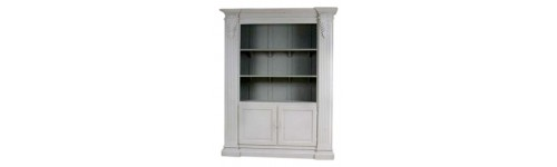 Bookcase Painted furniture french style