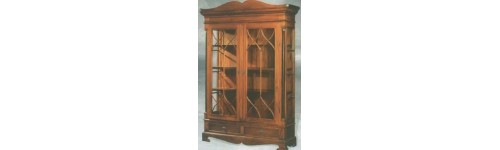 Bookcase & Showcase Cabinet Classic Furniture Mahogany