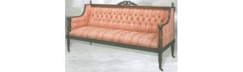 Sofa Classic furniture Mahogany