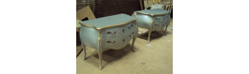 Chest of drawers Painted Furniture French Style