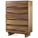 Live Edge Danish Chest Of Drawers