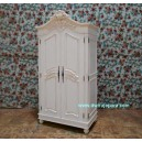 ARMOIRE FRENCH PAINTED FURNITURE JEPARA.