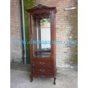 DW-BSC011 SHOWCASE JEPARA CLASSIC FURNITURE 1 DOOR.