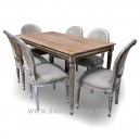 Painted Furniture dining table of diningroom Indonesia.