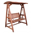 Indonesia furniture Teak of outdoor swing products.