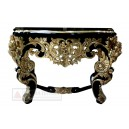 French Furniture Collection of Console Table Gold color.