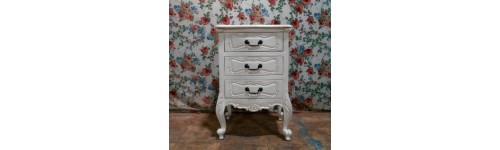 Bedside Painted Furniture French Style