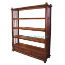 Indonesia bookcase teak furniture DW-BC006 ( 155X40X180)