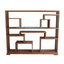 Indonesia bookcase teak furniture DW-LBCS01 (160 X 30 X 143)
