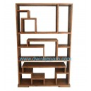 Indonesia bookcase teak furniture DW-LBCT02 (95X30X143)