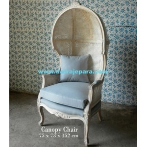 Painted Furniture French Canopy Chair Of Livingroom